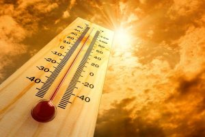 بالا رفتن دمای محل، دماسنج و نور خورشید