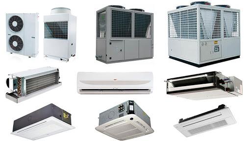 چند نمونه از سیستم های تهویه مطبوع